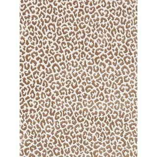 Sample, Scalamandre Panthera Velvet, Sable Fabric For Sale