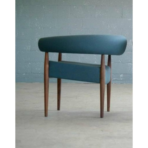 Nanna Ditzel for Getama Ring Chairs in Walnut and Wool - a Pair For Sale - Image 10 of 12