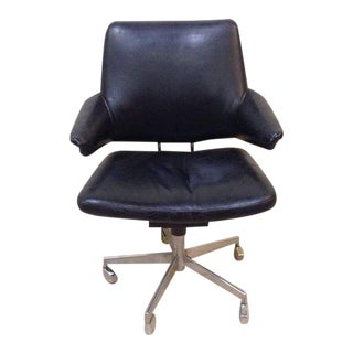 1960s Vintage Jacob Jensen for Labofa Danish Modern Office Chair