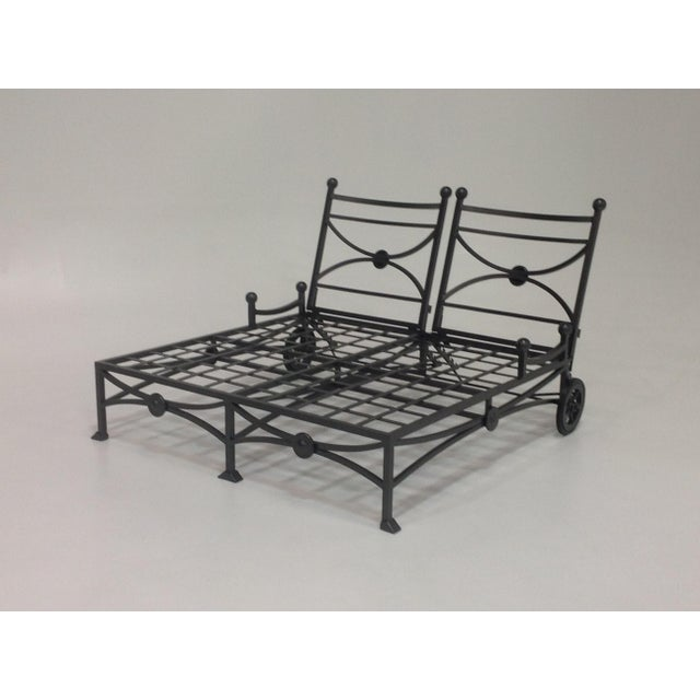 Large Patio Double Chaise Lounge For Sale In San Diego - Image 6 of 6