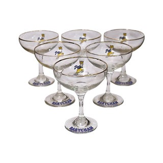 1960s Babycham Stems - Set of 6 For Sale
