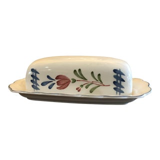 Avondale Provincial Design Butter Dish by Nikko For Sale