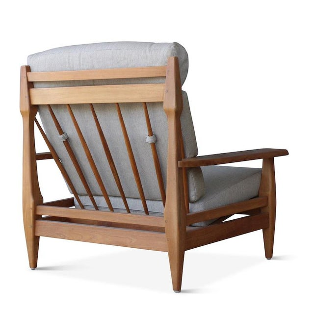 Hollywood at Home Outdoor Formosa Armchair For Sale - Image 4 of 8