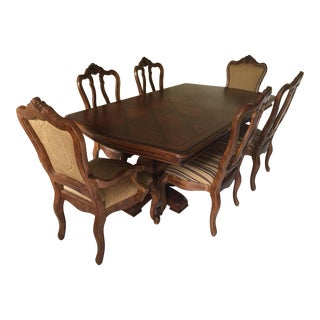 Ethan Allen Tuscany Dining Set - Set of 7