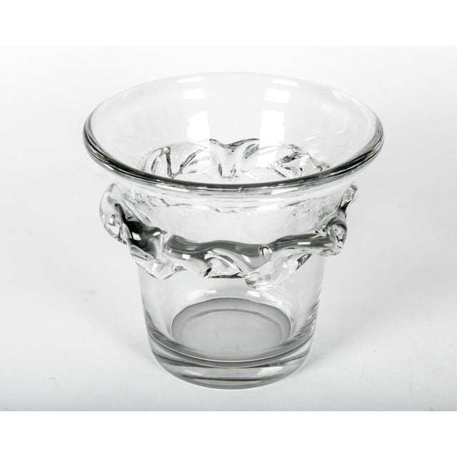 Mid 20th Century Large French Daum Ice Bucket For Sale - Image 5 of 5