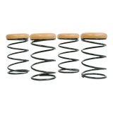 Image of Coil Spring Bar Stools - Set of 4 For Sale