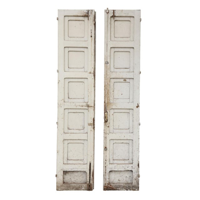 Three Antique French Doors For Sale - Image 9 of 11