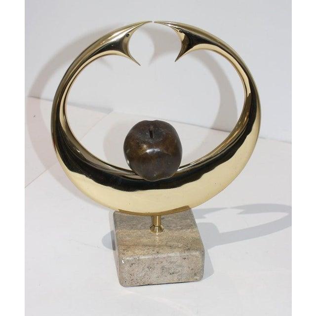 "Late 20th Century Vintage Meloniski Bronze Sculpture ""Adamo Ed Eva"" For Sale - Image 5 of 13"