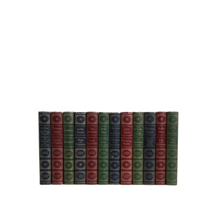 Jewel-Toned Vintage Classics : Set of Twelve Decorative Books