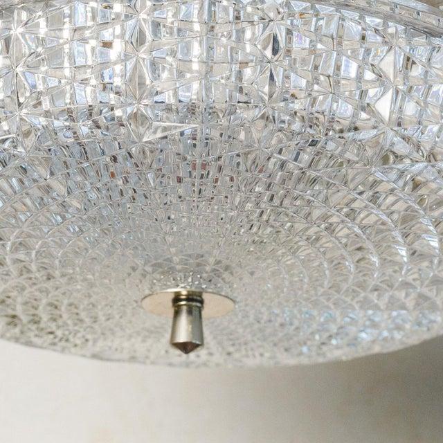Orrefors Swedish Glass Pendant For Sale - Image 4 of 8