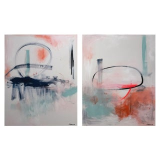 """Tommaso Fattovich """"Future Diptych"""", Painting For Sale"""