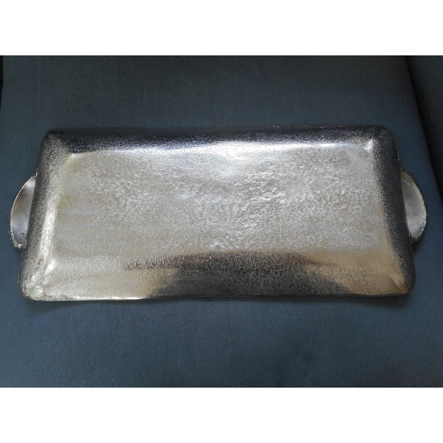 Silver Metal Shell Tray - Image 4 of 4