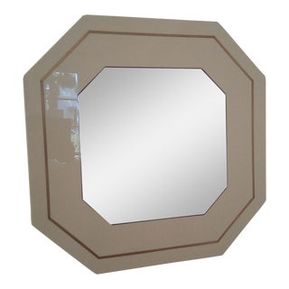 Vintage Willy Rizzo Style Mirror For Sale