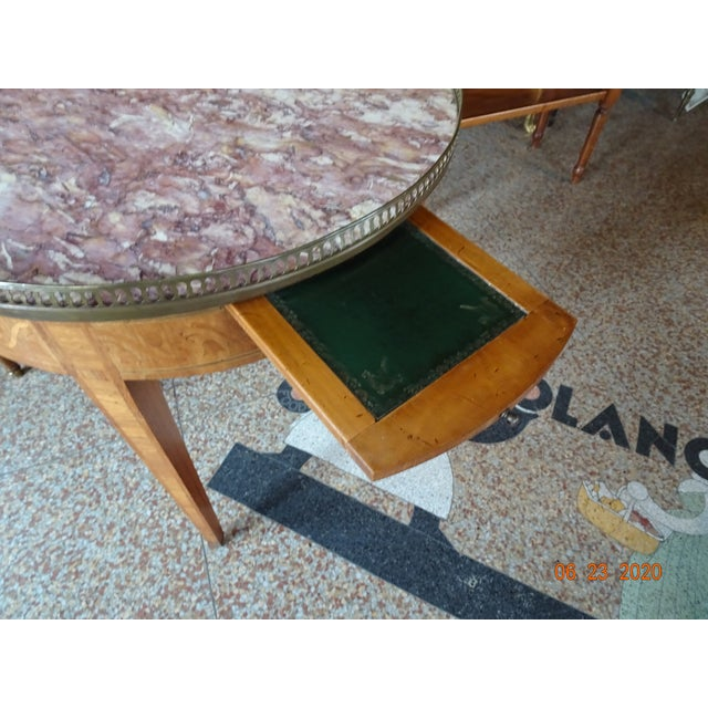 Late 19th Century 19th Century French Bouillotte Table For Sale - Image 5 of 13