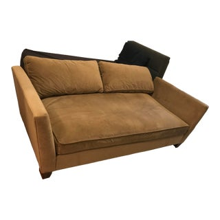 Crate and Barrel Lounge Sofa For Sale