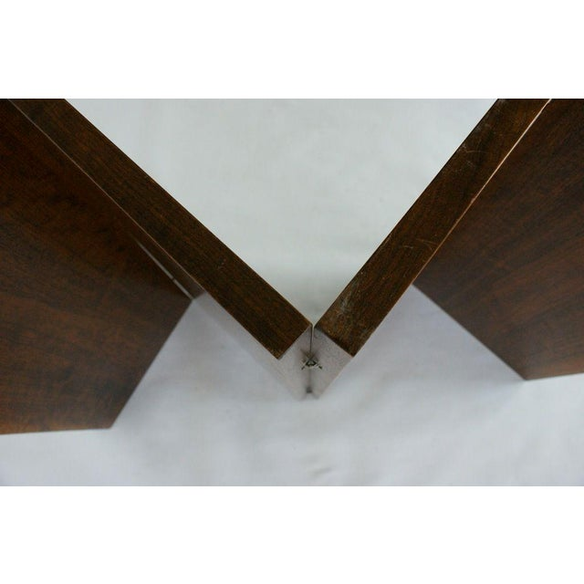 Mahogany Emile-Jacques Ruhlmann and Edgar Brandt Low Screen For Sale - Image 7 of 9