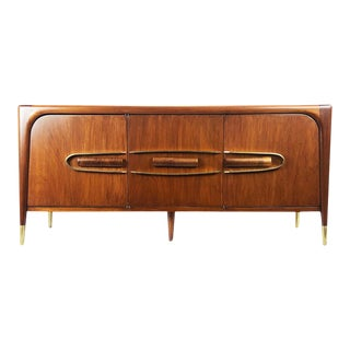 Mexican Modernist Petite Credenza by Eugenio Escudero For Sale