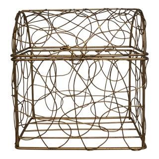 Sculptural Wire Box
