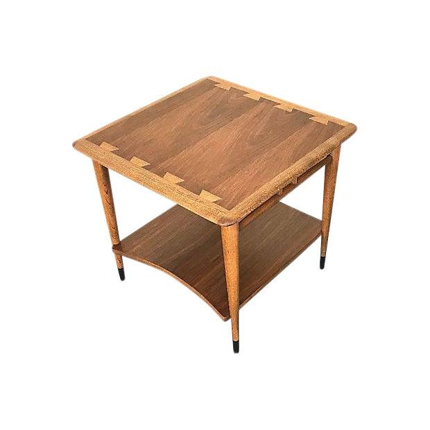Lane Acclaim MidCentury Modern Corner Table Chairish - Mid century modern corner table