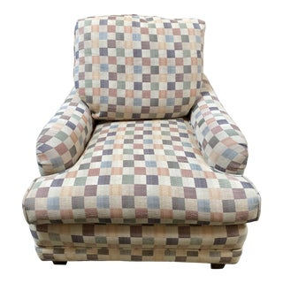 National Upholstering Company English Arm Chair For Sale