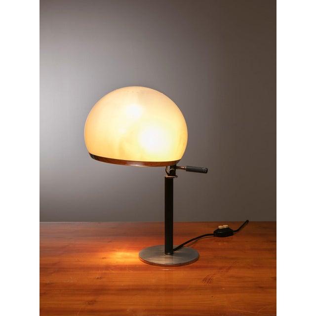 """Vittorio Gregotti Rare """"Bino"""" Table Lamp by Gregotti, Meneghetti, Stoppino for Candle For Sale - Image 4 of 6"""