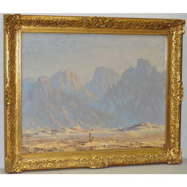 Thomas L. Lewis Taos New Mexico Landscape Painting - Image 2 of 6