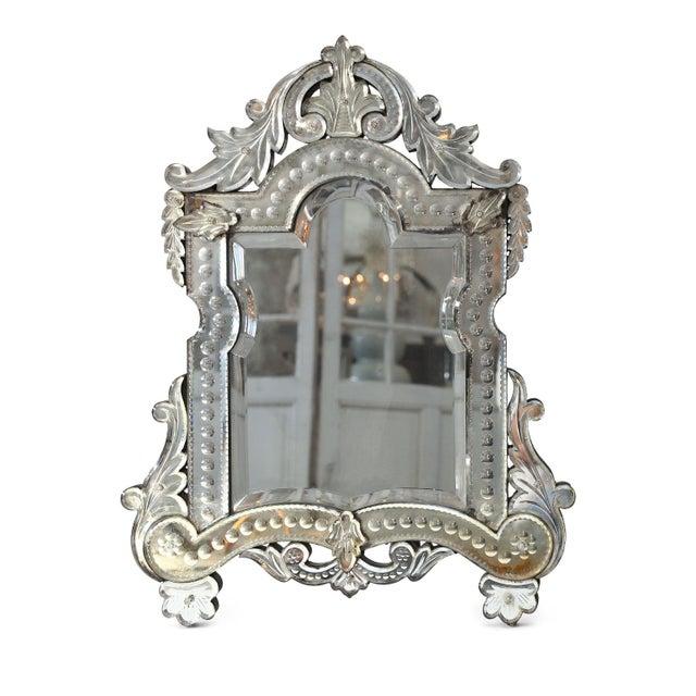 Vanity-Top Venetian Mirror For Sale - Image 12 of 12