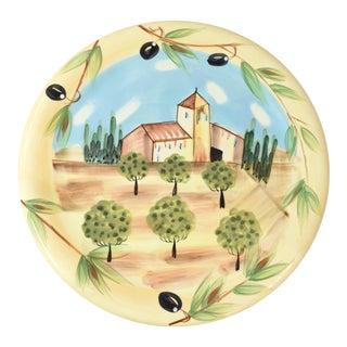 Vintage Vietri Round Platter
