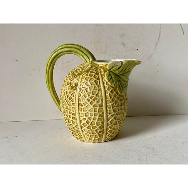 Ceramic Vintage Italian Pitcher Set by Neiman Marcus For Sale - Image 7 of 13
