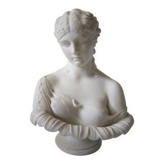 English Parian Bust Sculpture For Sale