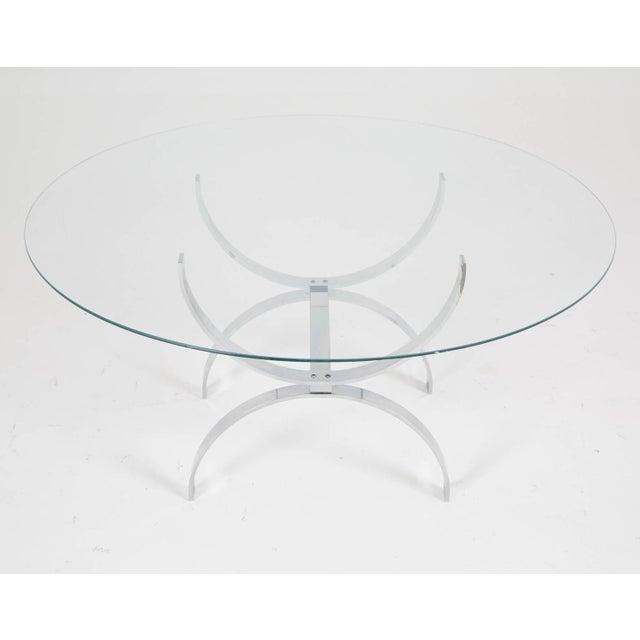 Pace Style Glass and Chrome Coffee Table - Image 3 of 7