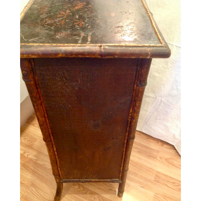 19th Century English Bamboo Cabinet For Sale - Image 11 of 13