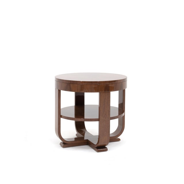 Transitional Rhodes Side Table For Sale - Image 3 of 3