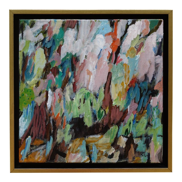 """Laurie MacMillan """"Biodiversity"""" Abstract Painting For Sale"""