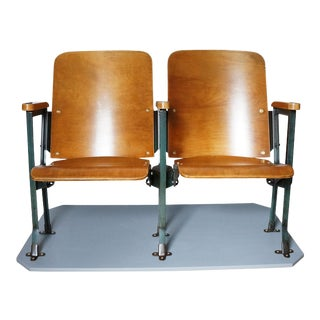 1940s Vintage Theater Seats For Sale