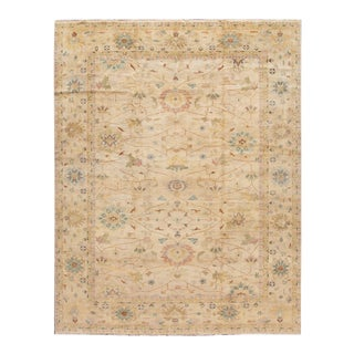 21st Century Mahal Wool Rug 12' X 15' For Sale