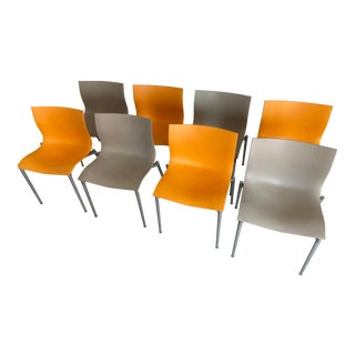Driade Aleph Cam El Eon Chairs by Starck - Set of 8 For Sale
