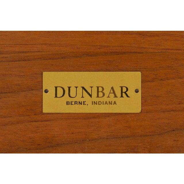Walnut Edward Wormley for Dunbar Long John Bench For Sale - Image 7 of 9