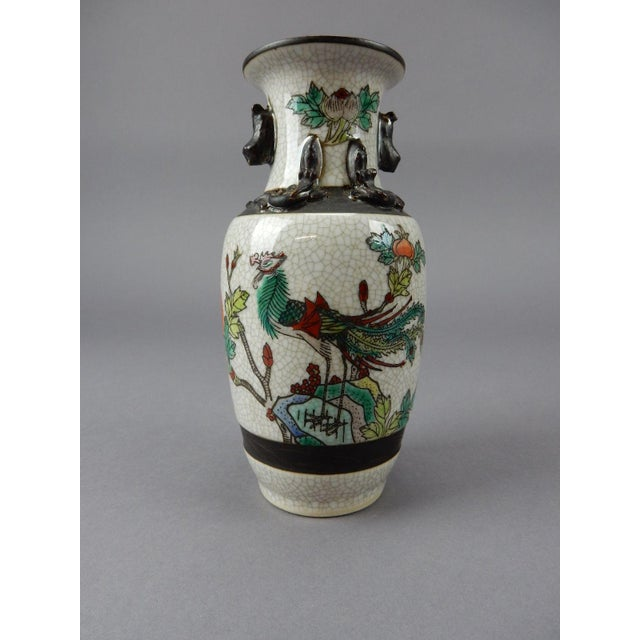 Green Antique Chinese Celadon Vase For Sale - Image 8 of 11