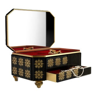 Filigree Jewelry Case From Covet Paris For Sale