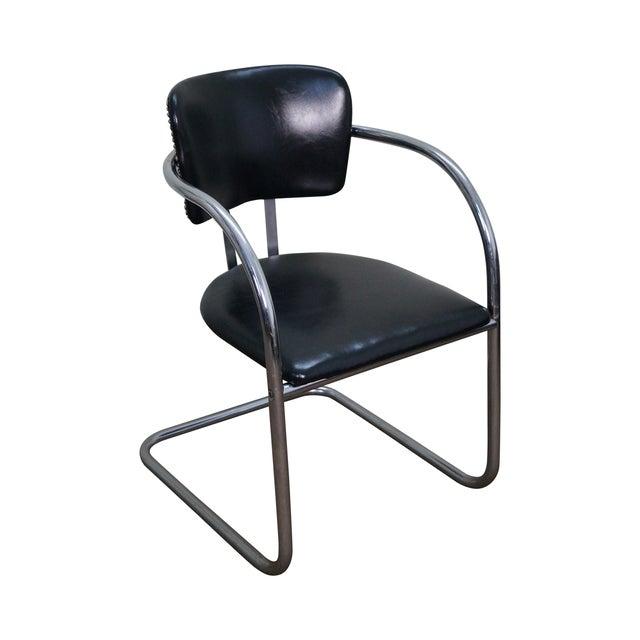 Chromecraft Vintage Mid Century Modern Arm Chair For Sale