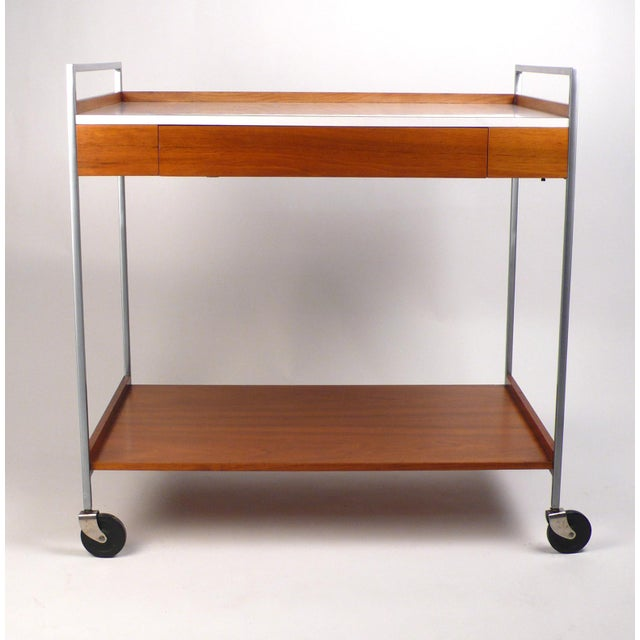 1950s Rare Server by George Nelson For Sale - Image 5 of 10