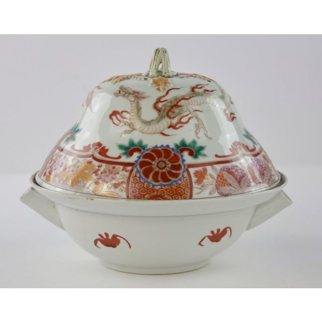 Antique Chinese Lidded Warming Dish - Image 3 of 9