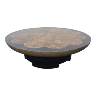 Kittinger Oil Drop Lotus Coffee Table For Sale