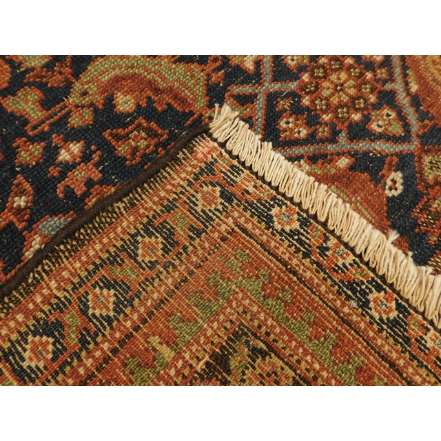 1900 Antique Persian Fereghan Rug For Sale - Image 12 of 13