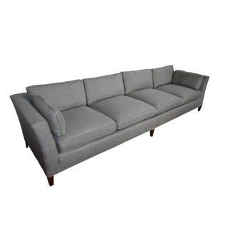 Vintage Mid Century Modern Sofa by Henredon-Newly Reupholstered For Sale