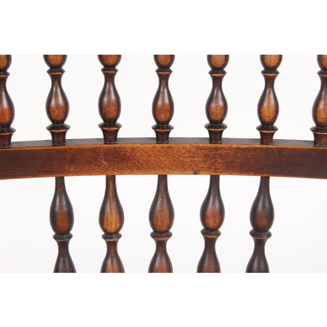Antique Elizabethan-Style Spindle Chairs - A Pair - Image 11 of 11