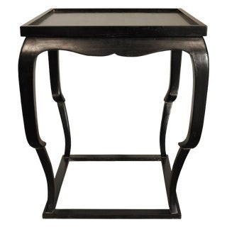Bellini Side Table, Hand Rubbed Black For Sale