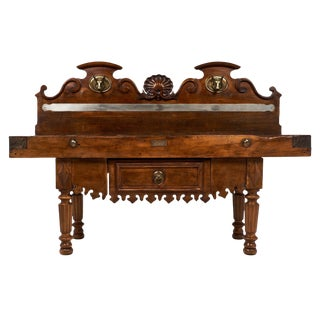 French Antique Butcher Table