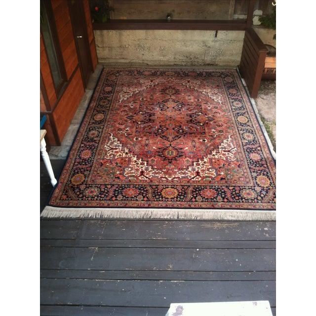 """Oriental Persian Wool Rug - 8'8"""" X 12' - Image 8 of 10"""